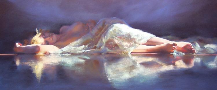 GracePaleg lifestyle painting of Gemma