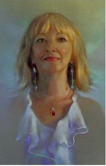 Grace Paleg Pastel Portrait Jane